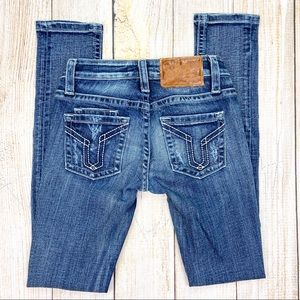 "VIGOSS STUDIO The Brooklyn"" Skinny Destroyed Jeans"